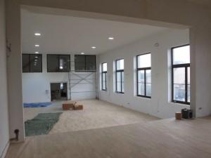 Rekonstruované prostory ke cvičení